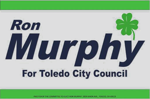 Ron Murphy For District 6 Toledo City Council – Point Place – Shoreland – West Toledo